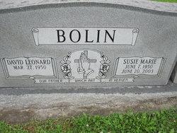 Susie Marie <i>Marshall</i> Bolin