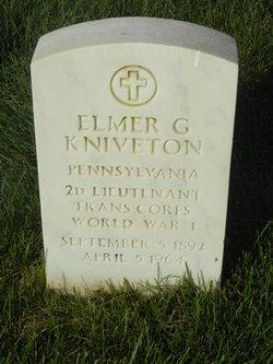Elmer G Kniveton