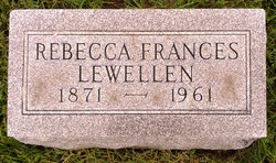 Rebecca Frances Lewellen