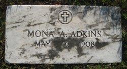 Mona A <i>Winkler</i> Adkins