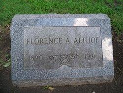 Florence A Althof