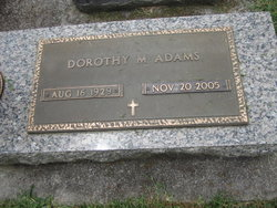 Dorothy Louisa <i>Matthews</i> Adams