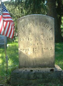 Pvt Barney Hamill