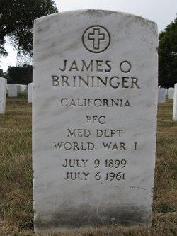 James O Brininger
