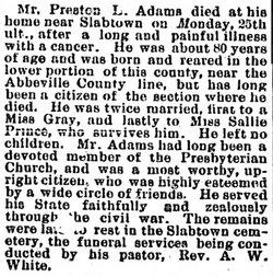 Preston L. Adams