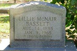 Lillie <i>McNair</i> Bassett