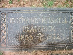 Julia Josephine Josey <i>Heiskell</i> Deaderick