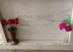 Anna <i>Wallace</i> Myers