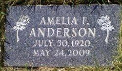 Amelia F <i>Weinrich</i> Anderson