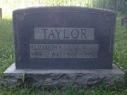 Drucilla Elizabeth Lizzie <i>Kimmons</i> Taylor