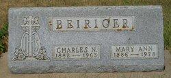 Mary Ann <i>Hoffman</i> Beiriger