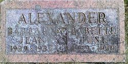Babette June Alexander