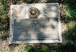 PFC Bruce Wayne Carter