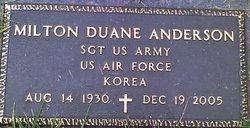 Milton Duane Anderson