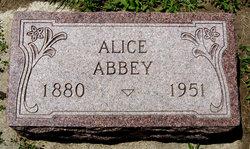 Alice <i>McAninch</i> Abbey