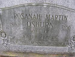 Rosanah Rosie <i>Martin</i> Osborn