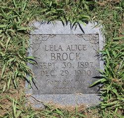 Lela Alice Brock
