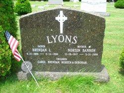 Mrs Noreen M. <i>Bannon</i> Lyons