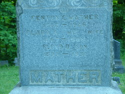 Clara A. <i>Drake</i> Mather