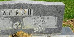 Abner Benton Ben Burch