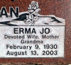 Erma Jo <i>McElroy</i> Haberman