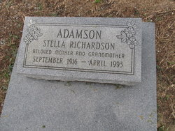 Stella <i>Richardson</i> Adamson