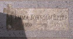 Emma C <i>Johnson</i> Beyer
