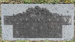 Ruth <i>Norman</i> Bockman