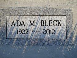 Ada Mae <i>Driscoll</i> Bleck