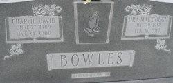 Charlie David Bowles