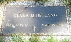 Clara Mary <i>Woods</i> Hetland