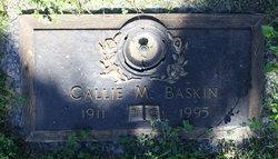 Callie M Baskin