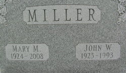 Mary Matilda <i>Williams</i> Miller
