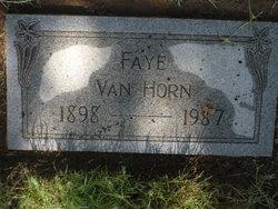 Faye Van Horn