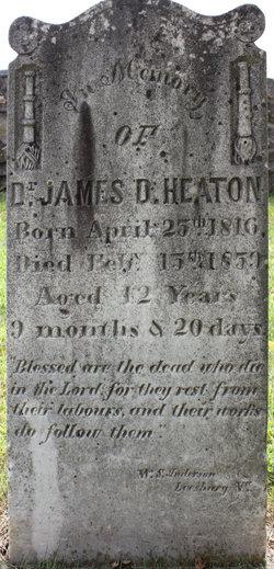 Dr James Decatur Heaton