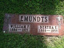 Bertha Electa <i>Mathena</i> Emundts