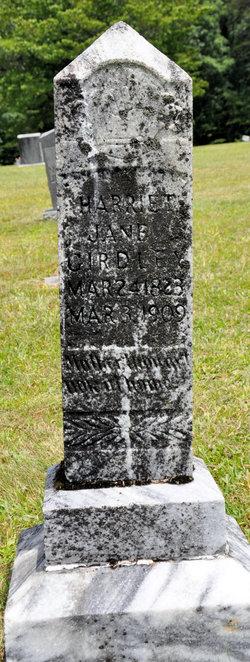 Harriett Jane <i>Lewis</i> Girdley