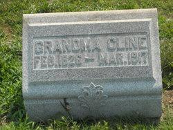 Sarilda Jane Grandma <i>Absher</i> Cline