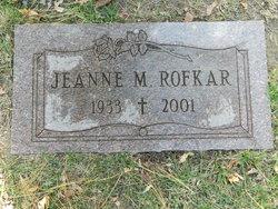 Jeanne <i>Kaltenmark</i> Rofkar