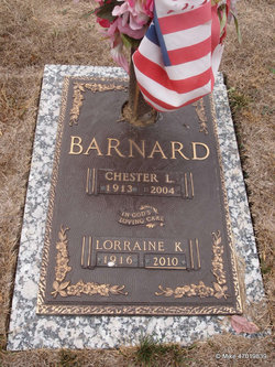 Lorraine Katherine <i>Bowman</i> Barnard