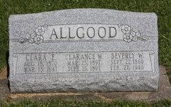Beverly W Allgood