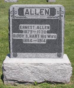 Biddie S. <i>Hart</i> Allen
