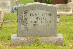 Emma Irene <i>Barrick</i> Myers