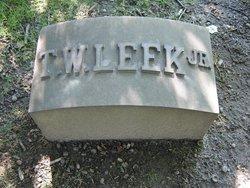 Talmage W Leek