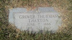 Grover Thurman Thaxton