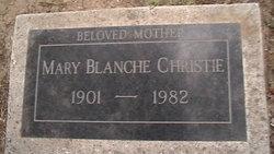 Mary Blanche <i>Adams</i> Christie