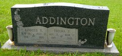 Thelma Juanita <i>Dunaway</i> Addington