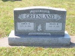 Edwin D Greenland