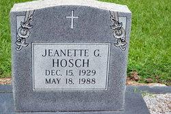 Jeanette G Hosch
