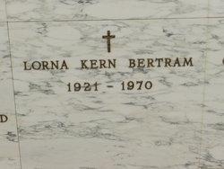 Lorna Marie <i>Kern</i> Bertram
